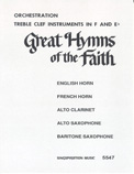 Great Hymns of Faith Hymnal (Eb / F Trb Clef)